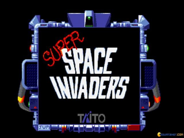 Super Space Invaders - title cover