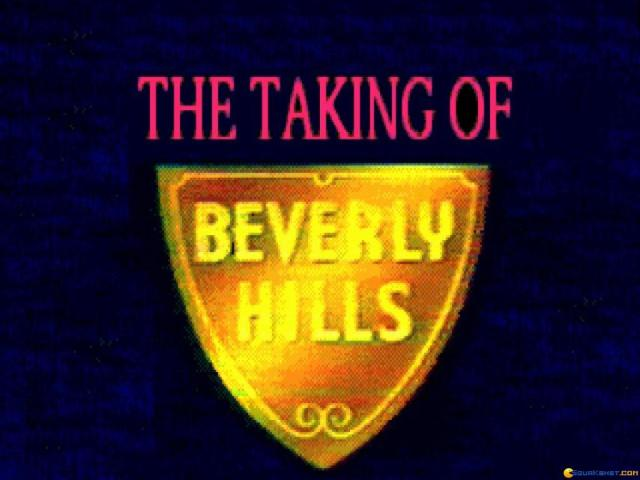 Taking Of Beverly Hills - title cover