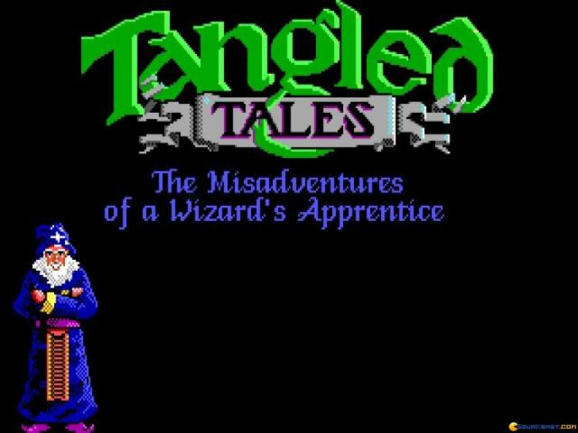 Tangled Tales - title cover