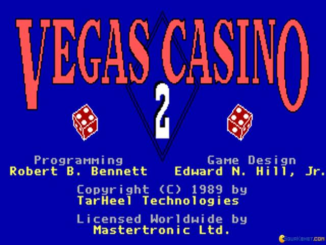 Vegas Casino 2 - title cover