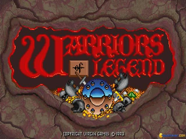 Warriors of Legend - title cover