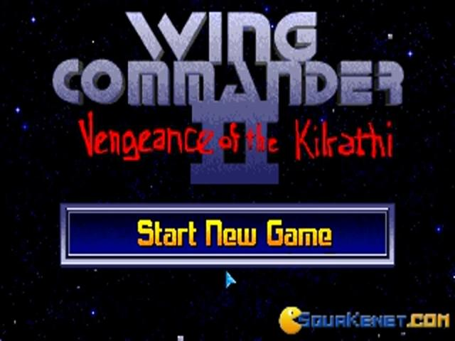 Wing Commander 2 - title cover
