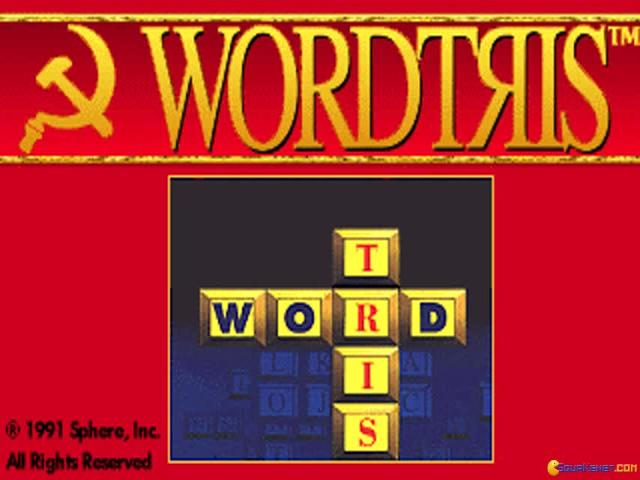 Wordtris - game cover