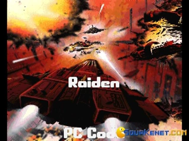 Raiden - game cover