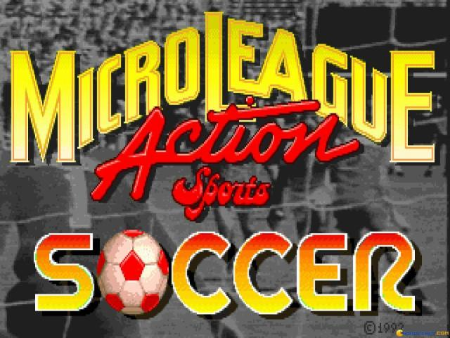Action Sport Soccer - game cover
