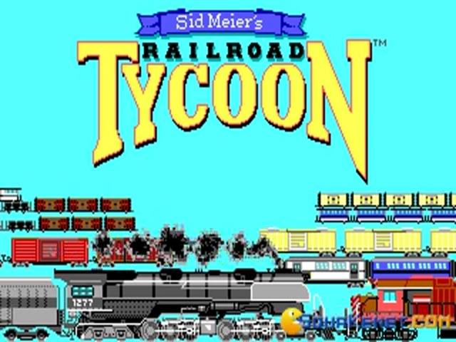 Railroad Tycoon - title cover