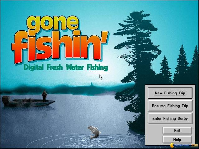 Gone Fishin' - title cover