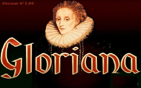 Gloriana: Elisabeth I - title cover
