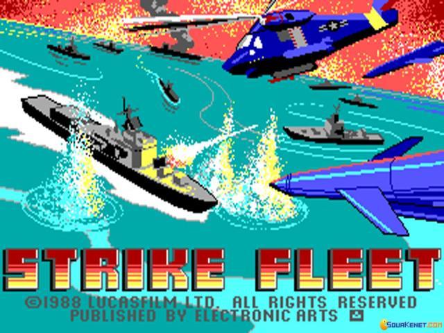 Strike Fleet - title cover