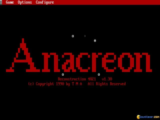Anacreon: Reconstruction 4021 - title cover