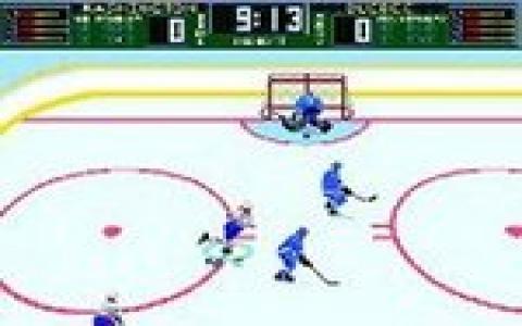 Brett Hull Hockey 95 - title cover