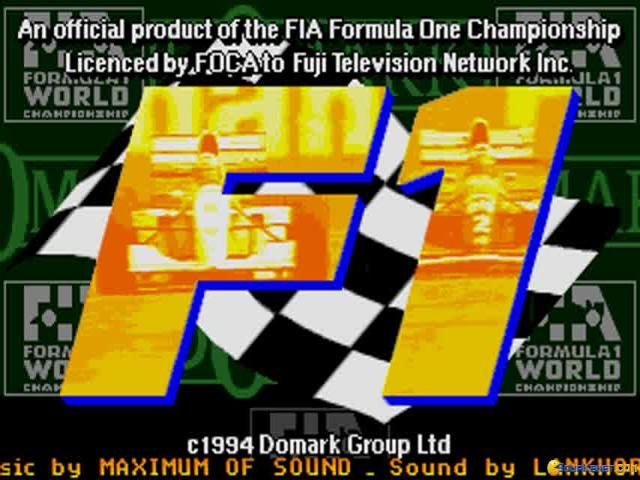 F1 World Championship Edition - title cover