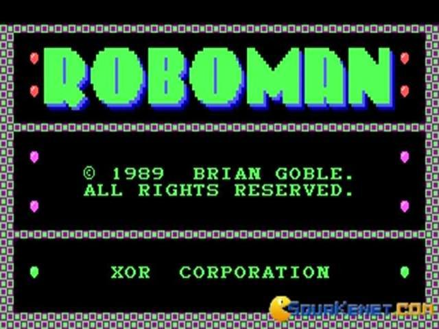 Roboman - title cover