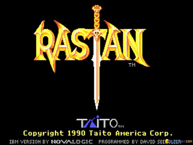 Rastan - game cover