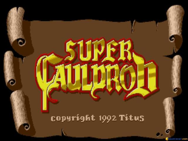 Super Cauldron - title cover