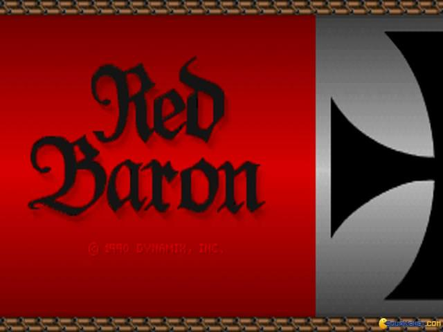 Red Baron - game cover