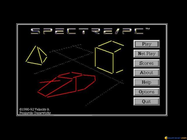 Spectre - game cover