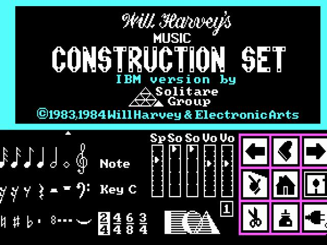 Music Construction Set - title cover