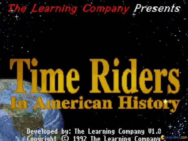 Time Riders in American History - title cover