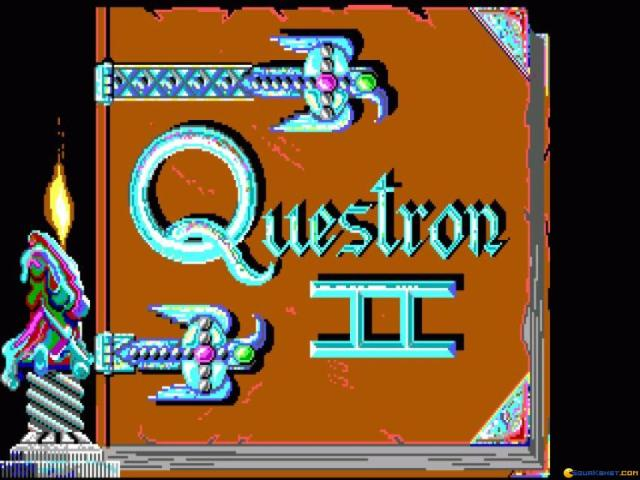 Questron 2 - title cover