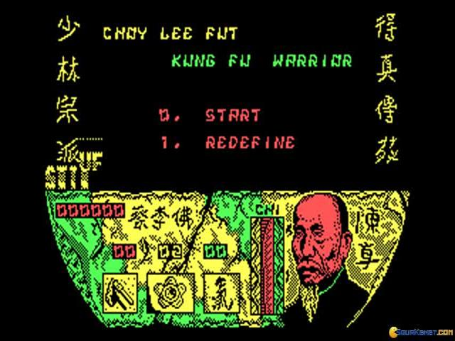 Choy Lee Fut Kung Fu Warrior - title cover