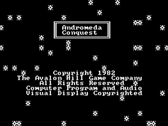 Andromeda Conquest - title cover