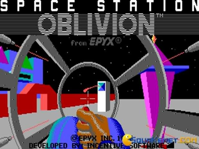 Driller - Space Station Oblivion - title cover