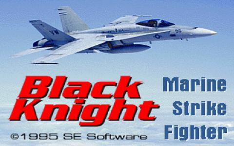 Black Knight: Marine Strike Fighter - game cover