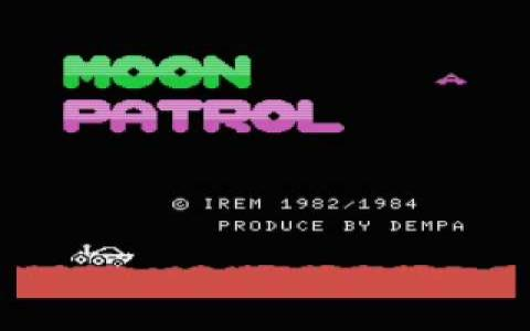 Moon Patrol - game cover