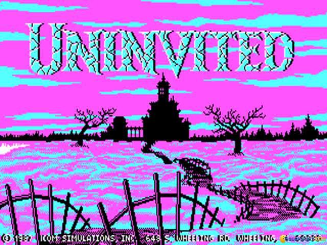Uninvited - title cover