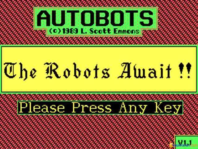 Autobots - title cover
