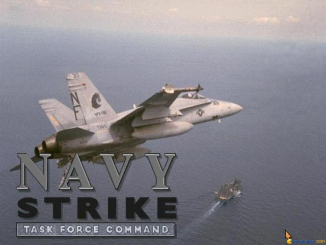 Navy Strike - title cover