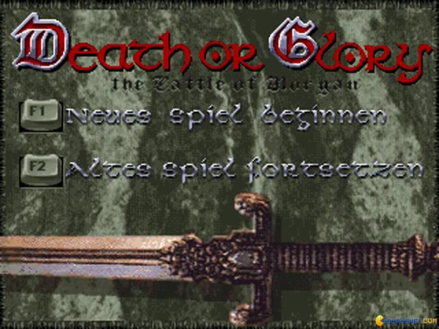 Death or Glory - title cover