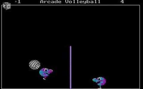 Arcade Volleyball - title cover