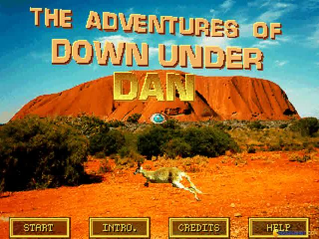 Down Under Dan - title cover