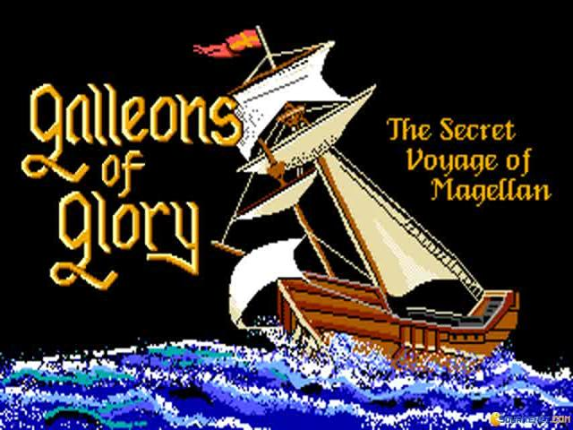 Galleons of Glory - title cover