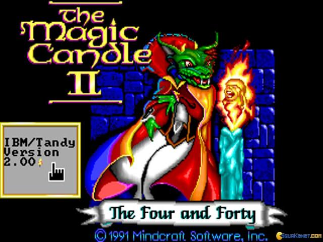 Magic Candle 2, The - title cover