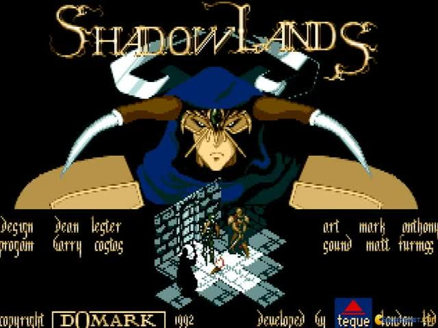 Shadowlands - title cover