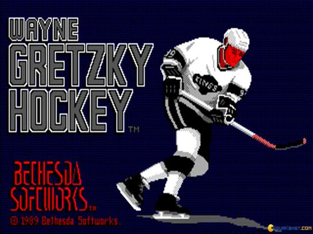 Wayne Gretzky Hockey - game cover