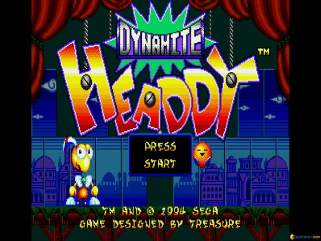 Dynamite Headdy - title cover