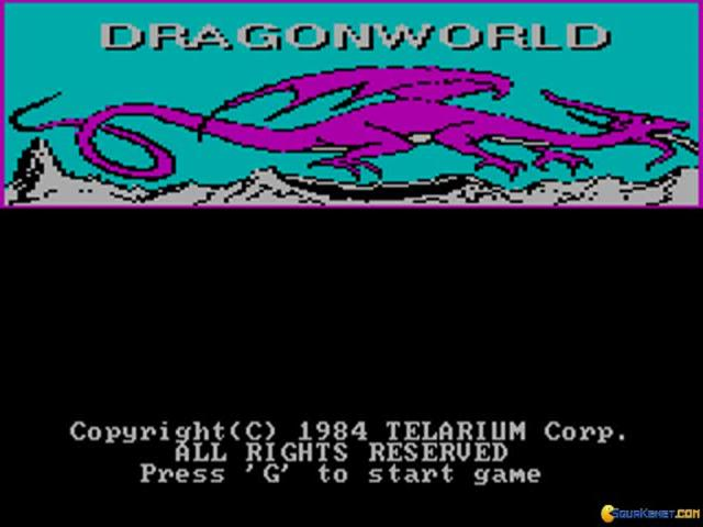 Dragonworld - title cover