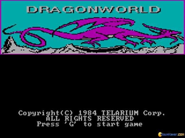 Dragonworld - game cover