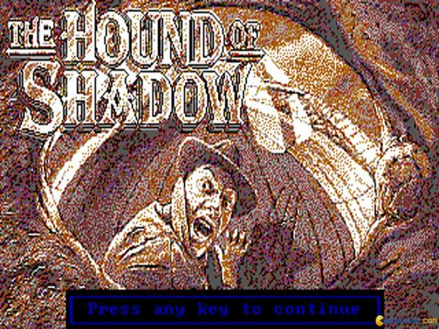 The Hound of Shadow - title cover