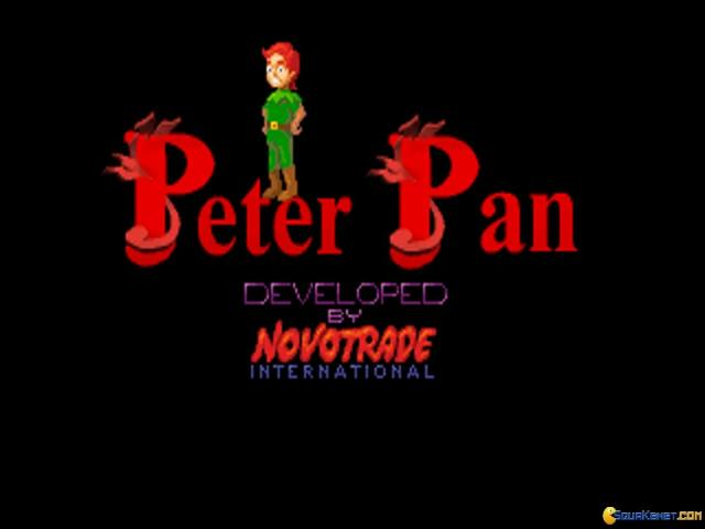 Peter Pan - title cover