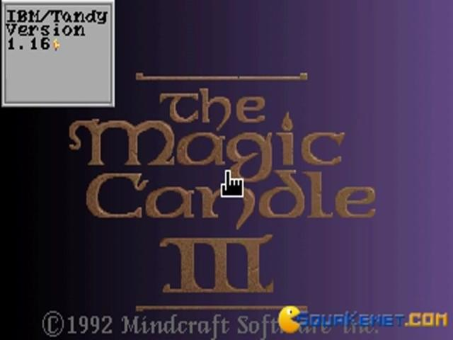 Magic Candle 3, The - title cover