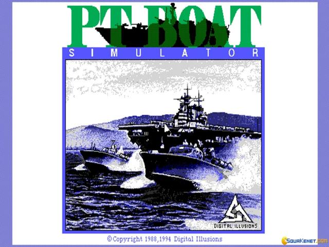 PT Boat Simulator - title cover
