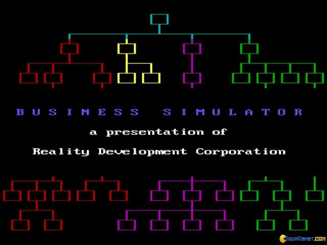 Business Simulator - title cover