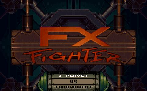 FX Fighter - title cover