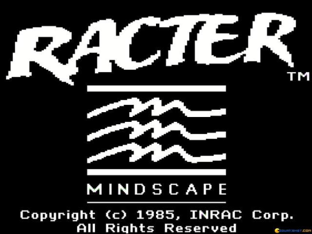 Racter - title cover