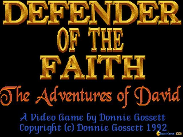 Defender of The Faith - title cover